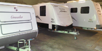 Caravan Storage and undercover caravan storage and caravan self storage